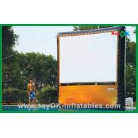 China Portable Home Inflatable Movie Screen / Projection Display Custom Inflatables wholesale