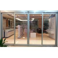China 3 mm Automatic Aluminium Sliding Doors / Automated Sliding Door For Hotel wholesale
