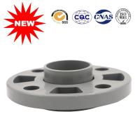 China UPVC Pipe Fittings PVC Water Pipe Fittings Gary Flexible Flange wholesale