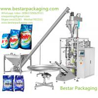 China washing powder pouch sealing machines , washing powder filling machines  supplier wholesale