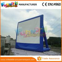 China Portable Inflatable Backyard Movie Screen Outdoor Games Inflatable Billboards wholesale