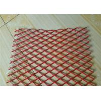 Colorful Expanded Stainless Steel Mesh with Firm Structure Diamond Hole
