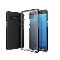 China Anti-Slip Samsung Note 8 Cover , Dual Layer Clear Tpu Back Cover Case wholesale