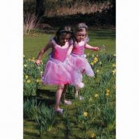 China Fancy Dress for Girls, Made of 100% Polyester, with Headband wholesale