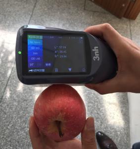China Laboratory food apple colorimeter orange juice liquid spectrophotometer YS3060 compare to Xrite CI64 UV spectrophotomet wholesale