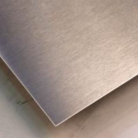 China SUS316L Silver Colors Colored Stainless Steel Sheets ,PVD Decoration Sheets 1250mm 1500mm Length Max 6000mm wholesale