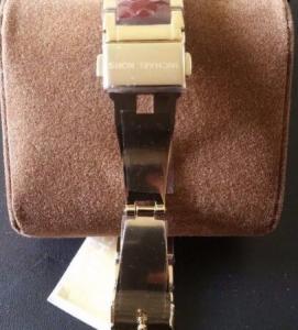 Quality Wholesale Michael Kors MK6427 Parker Gold-Tone and Garnet Acetate Bracelet for sale