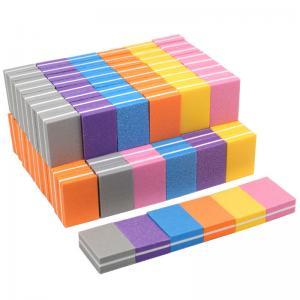 China Mini Sponge Nail Care Tools / Nail Buffer Block Double Sided Size 3.5 * 2.5 * 1.2cm wholesale
