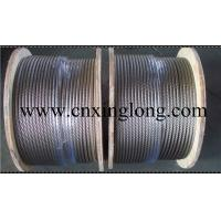 China sell xinglong aircraft cable 7x7 6x7+IWS 7x19 6x19+IWS 1x19 wholesale