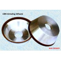 China Resin Bond CBN Grinding Wheels - CBGW03 wholesale