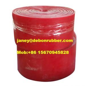 China Conveyor Polyurethane Rubber Skirt Board, Urethane Wear Strips export wholesale