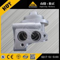 China sell Excavator PC450-8 oil filter head 6217-51-5103(Email:bj-012@stszcm.com ) on sale
