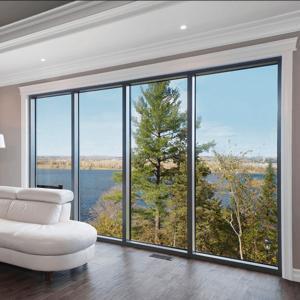 China Fabricated aluminium Glass fixed Awning Windows and doors wholesale