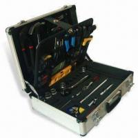 China Combination Tool Set, Made of Aluminum Frame/ABS, Convenient to Carry, Measures 450 x 330 x 130mm on sale