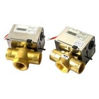 China On / Off Motorised Water Valve / 2 Way Valve Central Heating Actuator Brass Material on sale