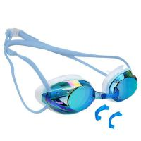 China Anti Fog Mirror Lens Goggles , Swimming Goggles With Prescription Lenses wholesale