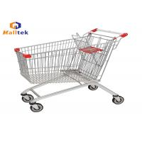 China European Style Supermarket Shopping Trolley Cart For Retail Grocery Store on sale