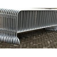 China Galvanized Temporary Construction Fence Movable Traffic Control Barrier Fence wholesale