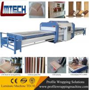 China Professional furniture surface vacuum membrane press machine wholesale