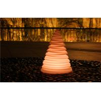 China Tree Shape Outdoor Plastic Small LED Night Light Lamps Anti - UV Ir Remote Control wholesale