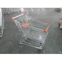 Asian Style Metal Shopping Trolley 100KGS with Anti-rust Treatment