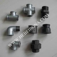 Galvanized and black malleable iron pipe fittings of item