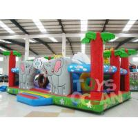 Quality 7x5m Large Inflatable Playground Ourdoor Playground Obstacle Combo For Children for sale