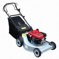22 inch self propelled lawn mower with aluminum deck and honda engine of techway. Black Bedroom Furniture Sets. Home Design Ideas
