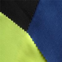 China Pure Cotton Twill Fire Resistant Cloth 10X7 Workwear Fabric For Safety Clothing wholesale