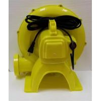 China Sturdy Durable Inflatable Slide Blower , Yellow Inflatable Toy Blower Low Noise wholesale