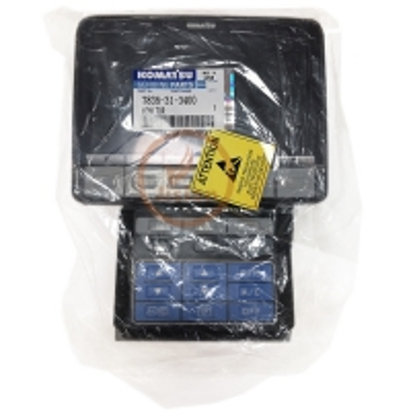 Quality PC200-8 KOMATSU Digger Parts Excavator Original Monitor 7835-31-3400 for sale