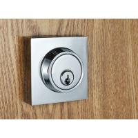 Quality Entry Locking Door Handles Silver Zinc Alloy Plate American Standard Lock Body for sale