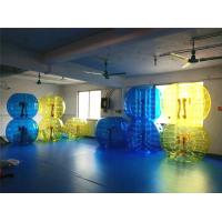 Buy cheap Kids / Adults Inflatable Soccer Bubble Ball With Urable Plato TPU from wholesalers