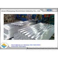 China Corrugated Aluminum Ridge Tile Embossed Aluminium Sheet 0.5 mm Thickness wholesale