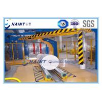 China Paper Mill Roll Stretch Wrapping Machine , Stretch Wrap Systems Custom Model wholesale