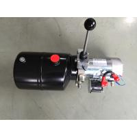 China Forklift Single Acting Mini 12vdc Hydraulic Power Packs With Steel Tank wholesale