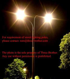 China Street lighting pole Model No. TBP-28 wholesale