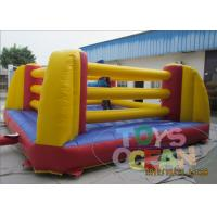 China PVC Inflatable Interactive Games Inflatable Boxing Wrestling Ring Bounce For Kids wholesale