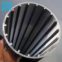 Buy cheap Factory ISO9001 Stainless Steel V shaped Wire Wrapped Screen from wholesalers