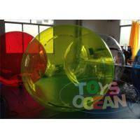 China Blue Inflatable Hamster Ball For Kids / Rental Inflatable Human Bumper Ball wholesale