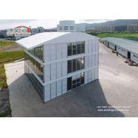 China Metal Frame Triple Decker Marquee Tent Structure with Glass and ABS Walling System wholesale