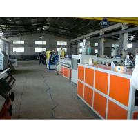 Buy cheap Plastic PVC Pipe Extrusion Line / PVC Fiber Reinforced Hose Machine / PVC Garden Hose Extrusion Machinery from wholesalers