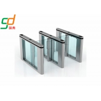 304 Stainless Steel Automatic Turnstiles Vertical Swing Door Turnstyle