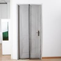 China Fiberglass Magnetic Screen Door Curtain Commercial Easy To Assembling wholesale