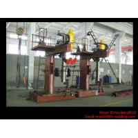 China L Shape Column And Boom H Beam Welding Machine for H Beam Welding Line 15m Rail wholesale