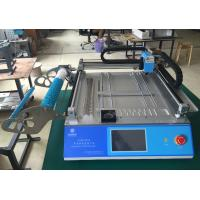 China Classic Model Charmhigh CHMT48VA Benchtop SMT LED Pick & Place Machine 2 vision cameras , PC in-build wholesale
