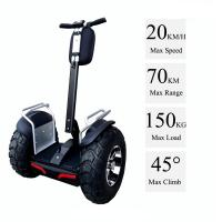 China 21 Inch Tire 4000W Brushless Segway Electric Scooter With Double Battery System on sale