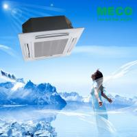 China Chilled water 4 way ceiling concealed cassette type fan coil units-1400CFM 4 TUBE wholesale