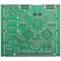 China FR4 Double sided PCB board HASL Finish , 0.3mm Min. Line RoHS Certification wholesale