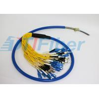 China ST LC FC SC Armour Fiber Optic Pigtail Multimode For Fiber Patch Panel And Fiber Adapter wholesale